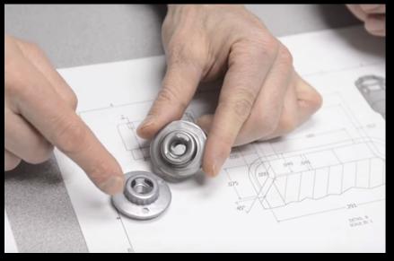 medical device manufacturing using deep drawn metal
