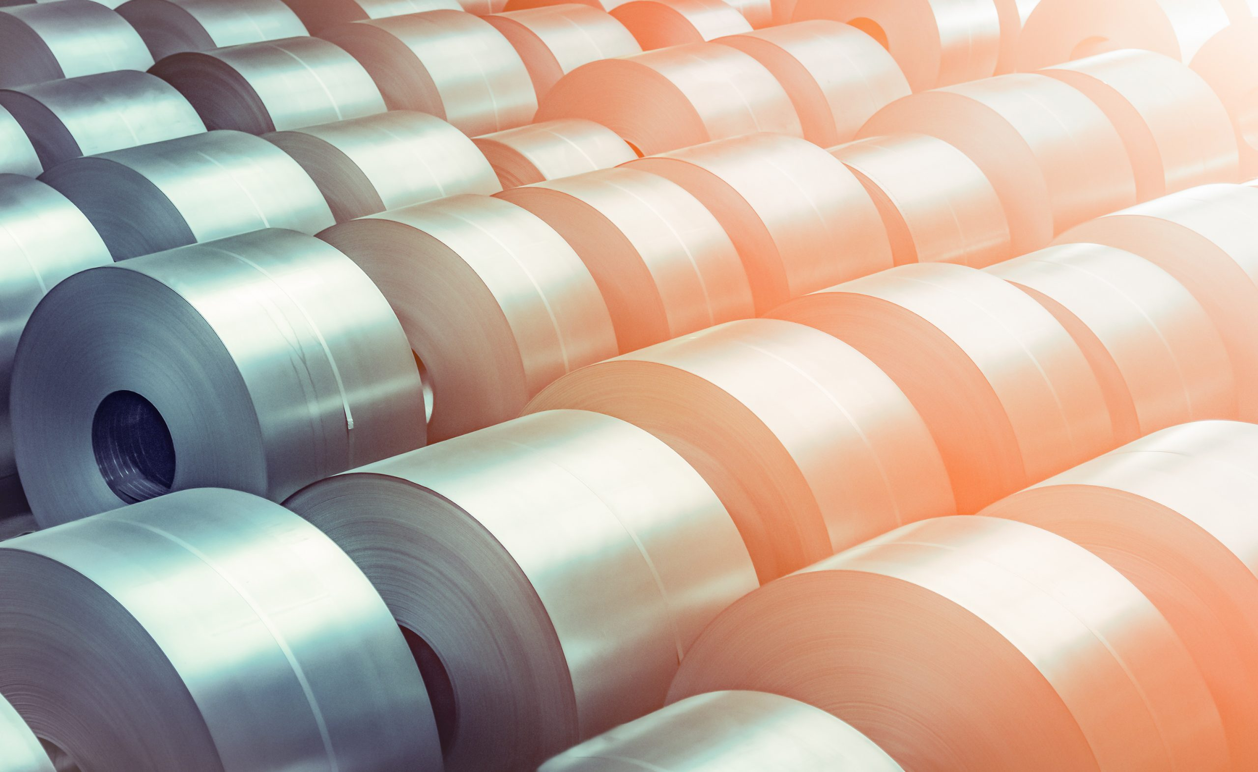 Cold,Rolled,Steel,Coil,At,Storage,Area,In,Steel,Industry